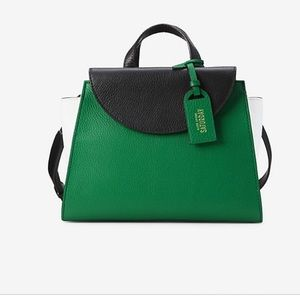 Kate Spade Saturday The Three Color Block Satchel